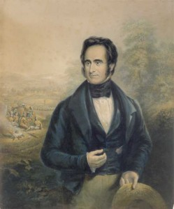 Robert Moffat (1843) Painted by George Baxter